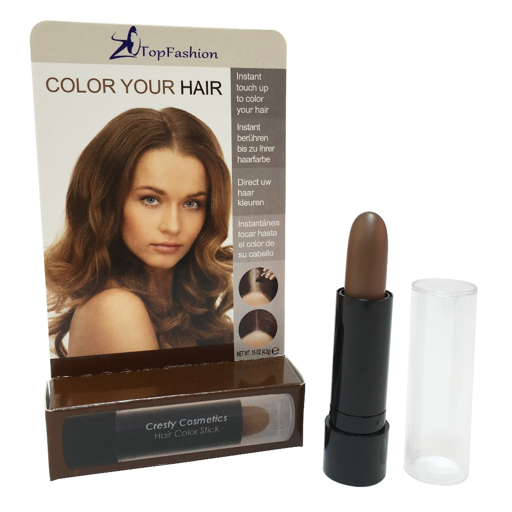 Aliexpress Buy Light Brown Color Temporary Touch Up Hair Stick