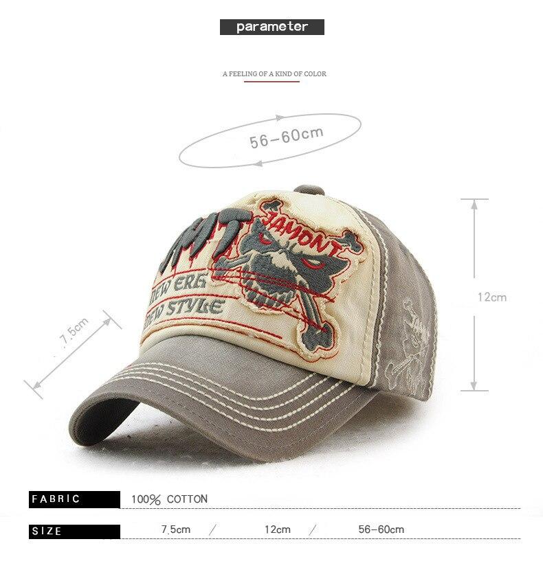 Gorra de béisbol Por FRALU Descripción del producto Material  Material de  algodón Circunferencia del sombrero  56 a 60 cm (Ajustable) (Elástico  cerrado para ... 54f847ba622