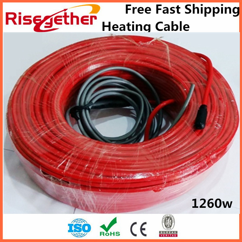 Free Fast Shipping China Galaxy Brand Underfloor Intelligent Warming System For Indoor 1260w Wood Floor  Heating Cable free shipping china top 1 brand flamingo