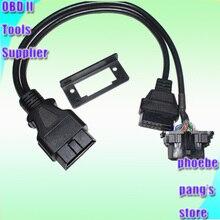 Support universel pour de nombreuses voitures, haute qualité, adaptateur OBD II OBD2 Y, connecteur de Diagnostic, câble dextension enfichable