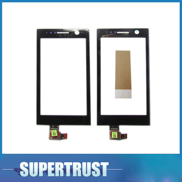 3.5inch For <font><b>Sony</b></font> Ericsson Xperia U ST25i ST25a <font><b>ST25</b></font> Touch Screen Digitizer Front Glass Lens Sensor Panel Black color With tape image
