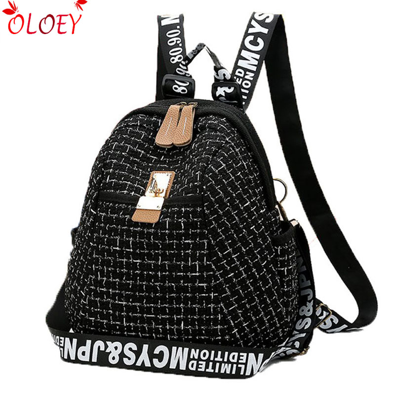 2018 Fashion Women Backpack High Quality Youth Leather