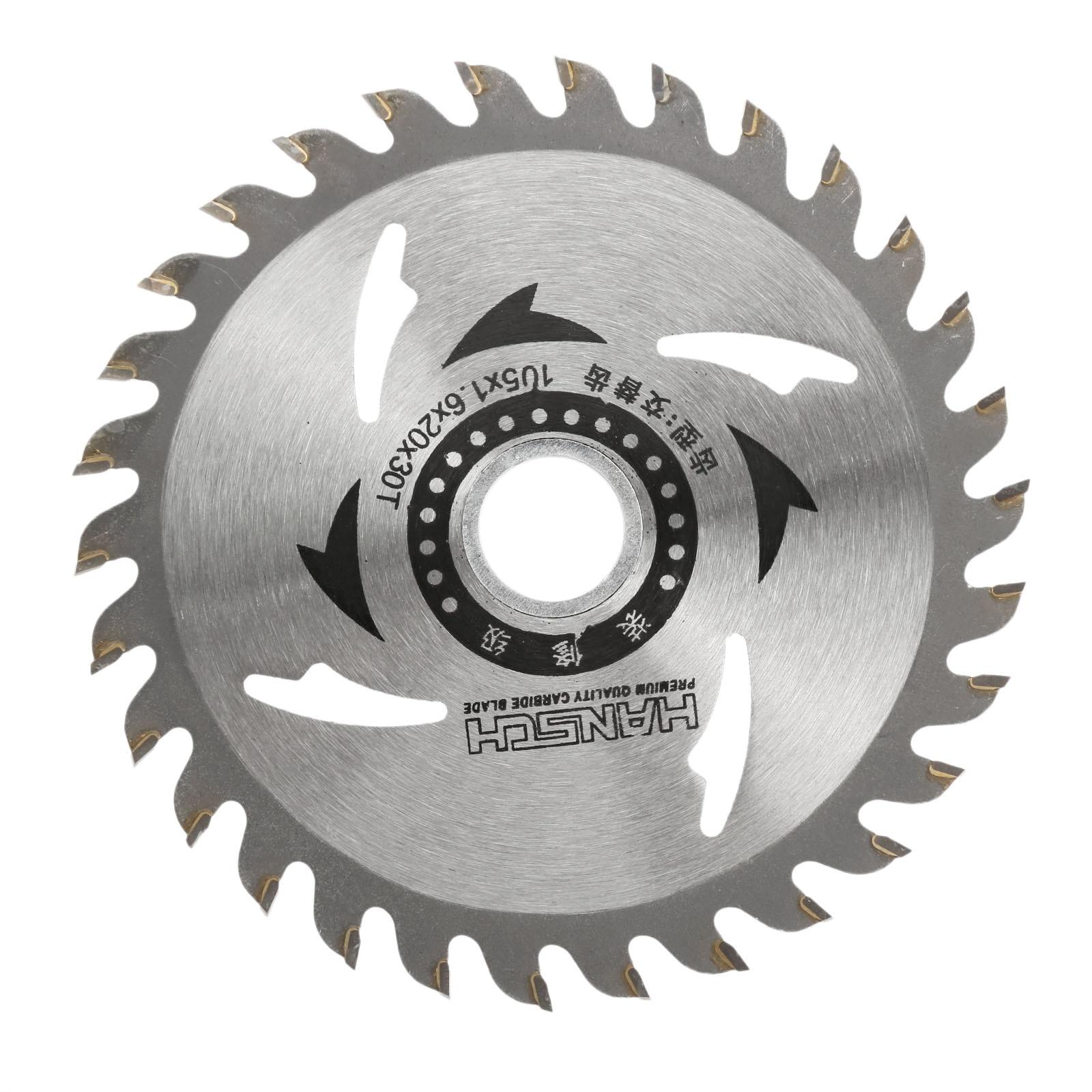 1Pc 30 Teeth Circular Saw Blade Wheel Cutting Discs Tungsten Steel Circular Wood Blade For Granite Power Tool Dremel Accesories
