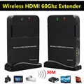 30 m 98ft hdmi 60g extensor sem fio suporte full hd 1080 p 3D TV Audio Video Sender Transmissor Receptor WIHD HDCP 2.0 DTS-HD