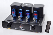 Meixing MC34-A Vacuum Tube integrated Amplifier Blue EL34*4 Class AB1 push-pull power Amplifier 38W*2 110V/220V