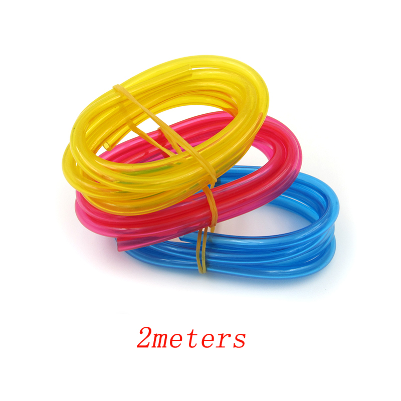 2Meters RC Gas Nitro Car Boat Airplane Tubing 3x5mm Soft Oil Pipe Tank Silicone Tube Water Pump Jet Engine Water-cooled Pipes image
