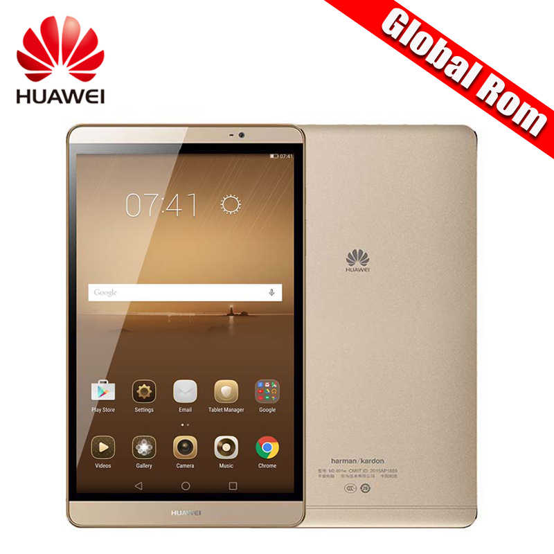 "הגלובלי Rom Huawei MediaPad M2 8.0 קירין 930 אוקטה Core 8 ""3 GB זיכרון RAM 32 GB/64 GB ROM אנדרואיד Huawei M2 Tablet PC"