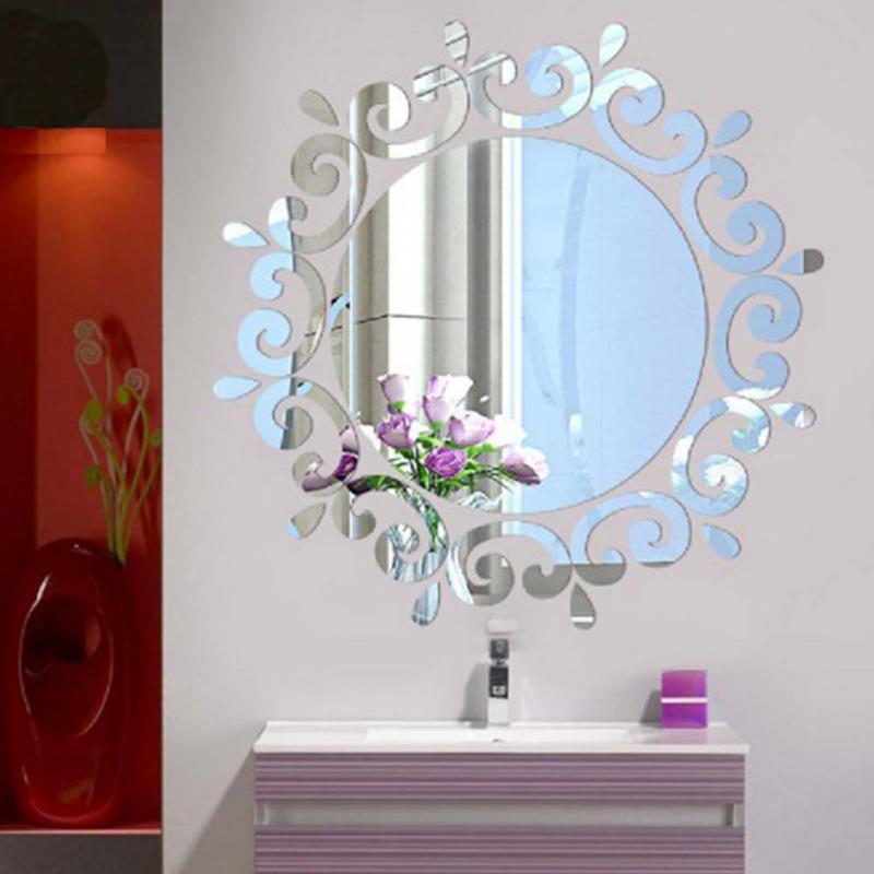 Art Elegant 18 Luxury Flower Vine Design Decorative Mirror Home