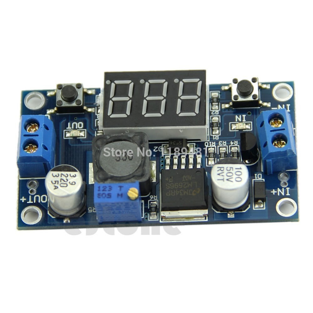 F85 Dc 4040 To 13 37v Led Voltmeter Buck Step Down Power Schematic Converter Module Lm2596 In Voltage Meters From Tools On Alibaba Group