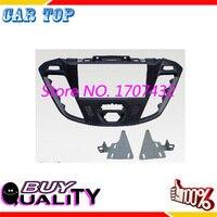CT CARID Car Covers Dash Frame Radio Fascia For Fo Rd Transit Custom 2013 2DIN Stereo