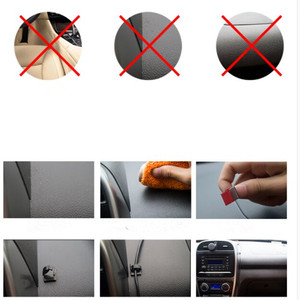 Image 2 - 20Pcs/lot Plastic Office Car Wire Cord Wrapper Pasted Flat Cable Holder Tie Clips Fixer Organizer Winder Rectangle Mount Clamp