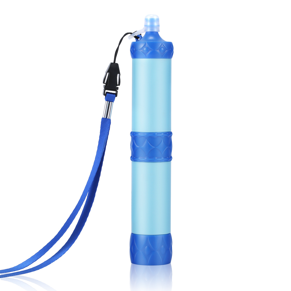 Portable Water Filter Purifier Camping Hiking Pressure Water Purifier Wild Drinking Survival Kit Water Filter