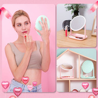 Makeup Light Dimmer Stage Mirror LED Tourch Screen Vanity Mirror with USB