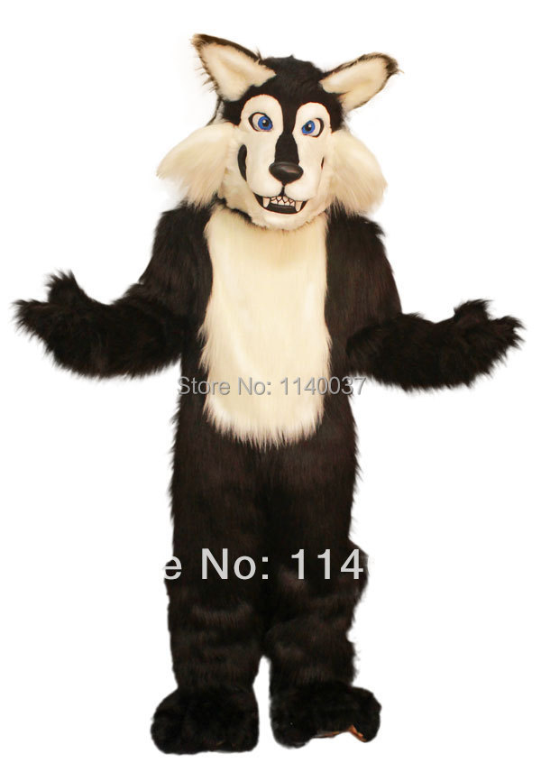 mascot Black Wolf Mascot Costume black coyote custom fancy costume anime cosplay mascotte theme fancy dress carnival costume