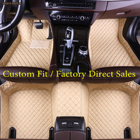 ZHAOYANHUA Car floor mats for Mercedes Benz GLA CLA GLK GLC G ML GLE GL GLS A B C E S W204 W205 W211 W212 W221 W222 W176 liners