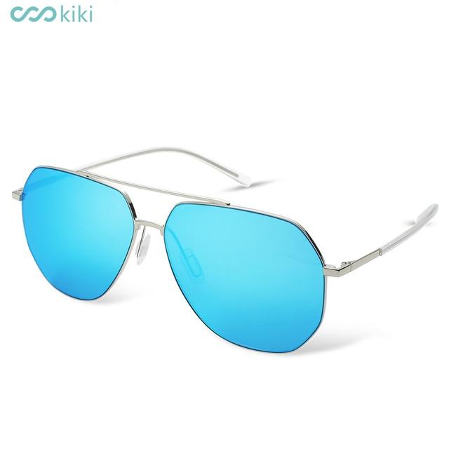 384e7d3f67 KIKI Men Non-Polarized Nylon Sunglasses Brand Designer 2017 Pilot Glasses  Driving For Men s Oval
