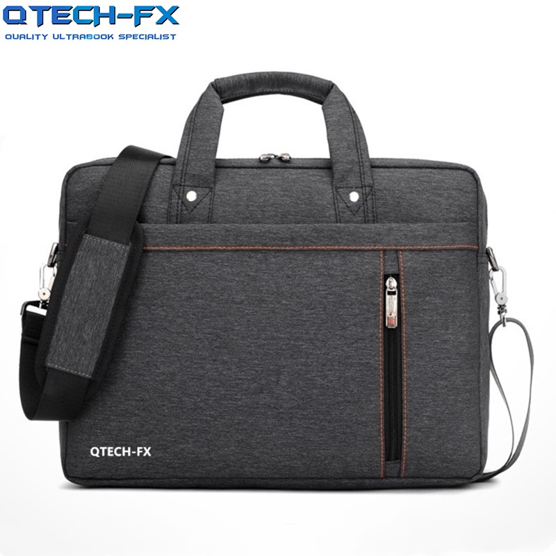 Quality Laptop Briefcase Canvas Bag Cushion Protection Business for QTECH font b Apple b font ASUS