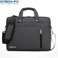 Quality Laptop Briefcase Canvas Bag Cushion Protection Business for QTECH Apple ASUS Lenovo HP Dell Notebook Computer Gift Pink