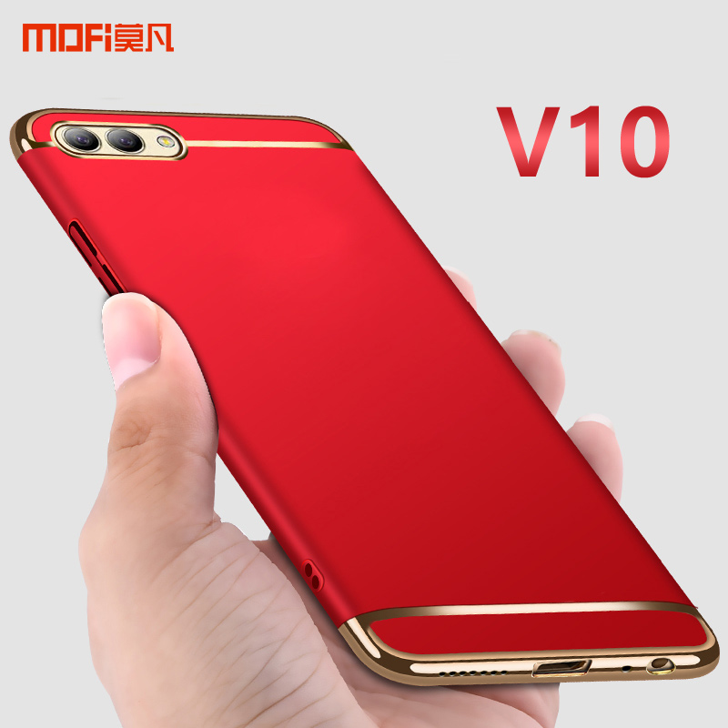 Honor V10 Case Cover Honor View 10 Hard Case MOFI 3 in 1 PC Hard Back Full Cover Case For HUAWEI Honor V10 coque funda 5.99'' image