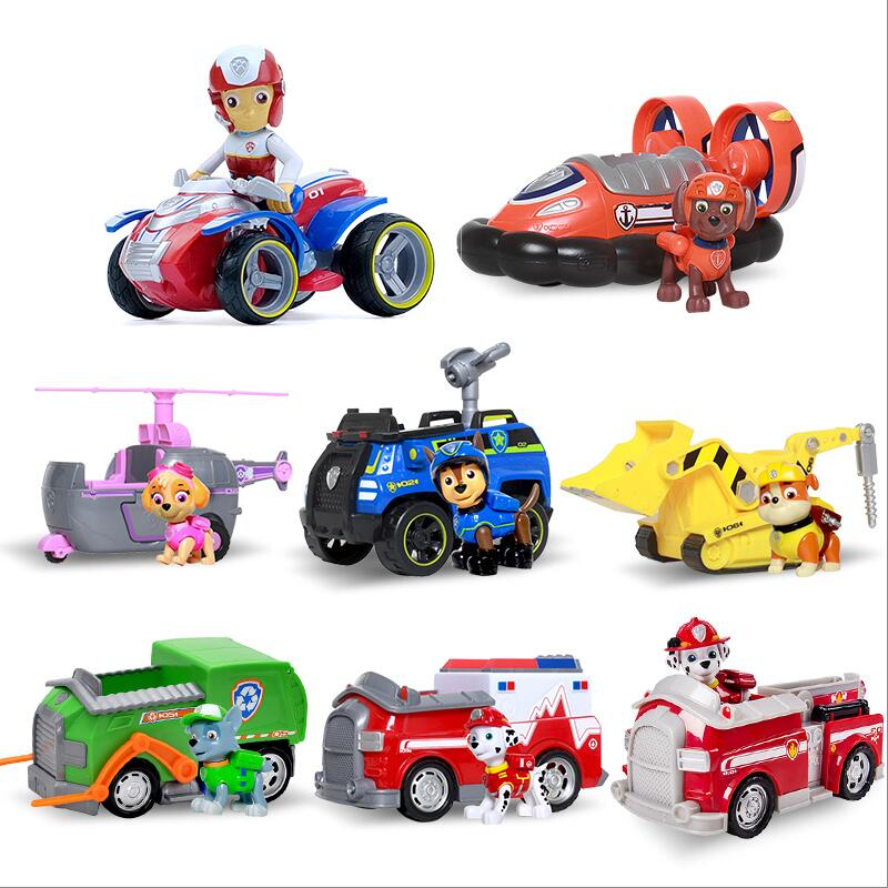 Paw Patrol dog Puppy patrol car Canine vehicle Toy Dog Patrulla Canina Action Figures Juguetes toys gift GenuinePaw Patrol dog Puppy patrol car Canine vehicle Toy Dog Patrulla Canina Action Figures Juguetes toys gift Genuine