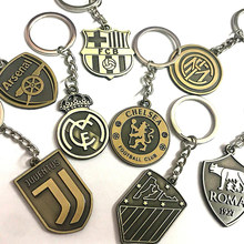 Football Sport Team LOGO Chain Soccer Souvenir Pendant Wholesale(China)