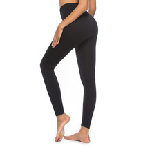 TOIVOTUKSIA Solid Gray Casual Spandex  Leggings Fitness Black Milk Buttery Soft Brand legging