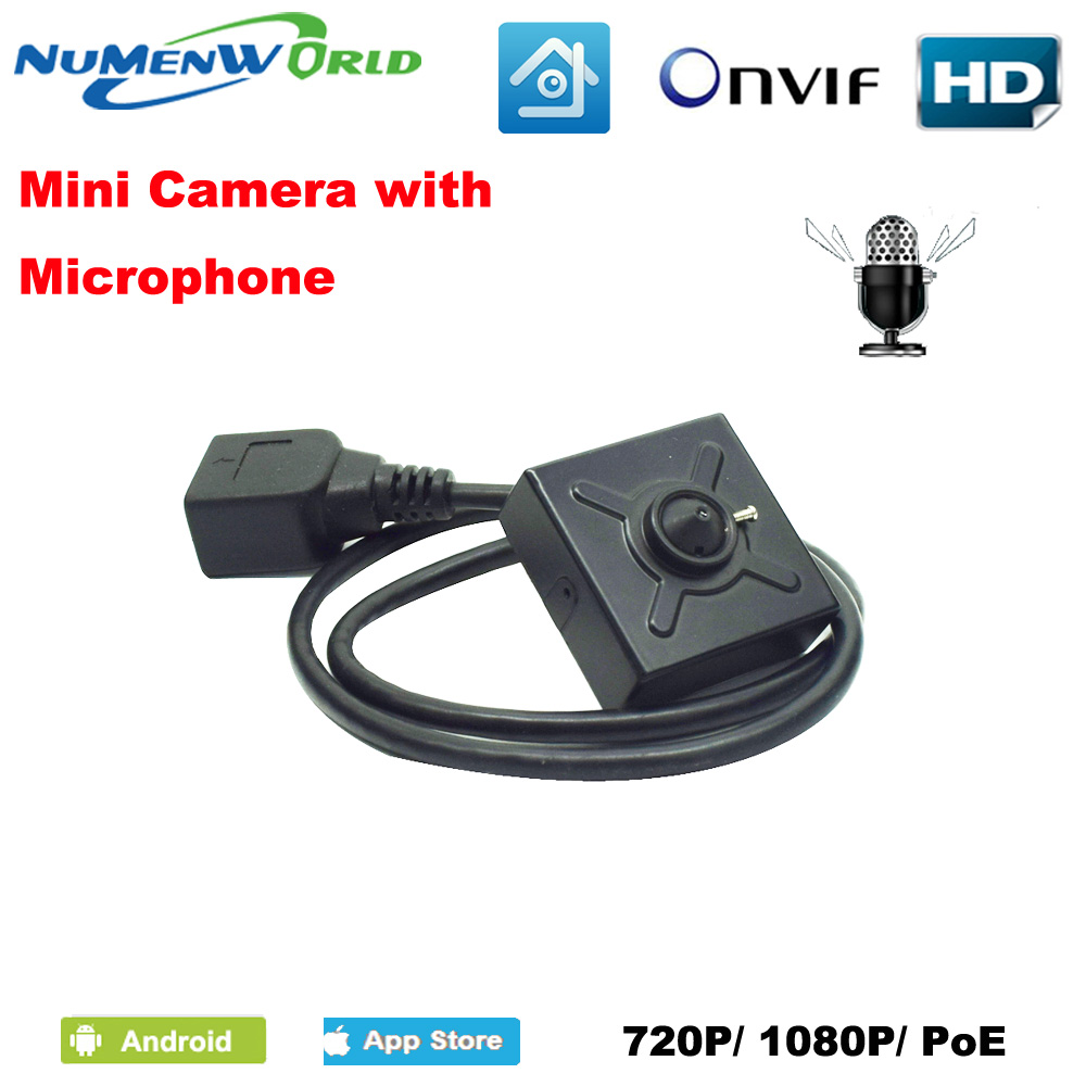 Numenworld IP camera 720P/1080P POE HD webcam Mini CCTV Video Audio camera ONVIF P2P RTSP Surveillance Camera for Home Indoor indoor cctv surveillance mini onvif p2p full hd 1080p motion detection poe ip camera audio support for atm shops home security