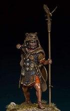 Kit modello di figura in resina 1:24 non assemblato non verniciato//guerriero romano G467