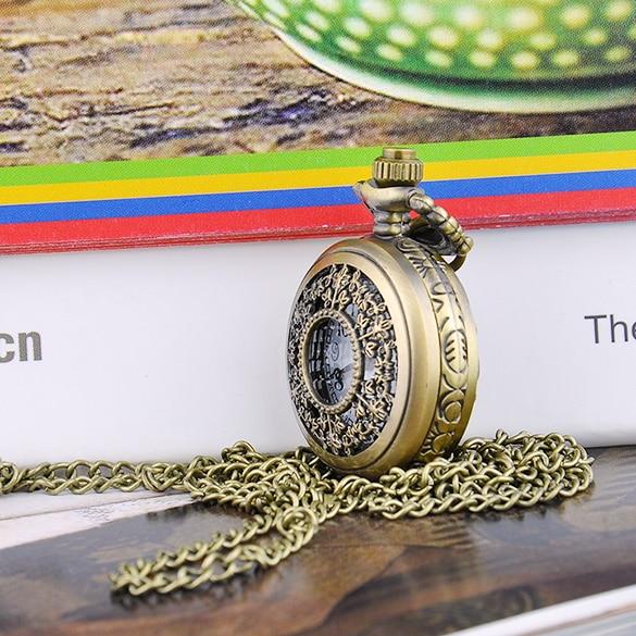 FANALA Men Pocket Watch Ретро Стиль Биіктігі Мыс - Қалта сағаты - фото 5