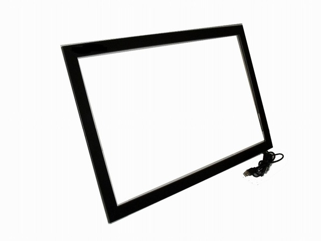 HOT! 32 inch usb multi touch screen overlay panel kit for LCD& Monitor, USB power, ir touch frame for touch table, kiosk etc
