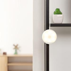 Image 4 - Yee светильник с датчиком движения, Ночной светильник, USB Перезаряжаемый, три варианта установки, инфракрасный, магнитный с крючком для умного дома