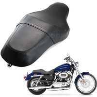 1pcs Vintage Motorcycle Driver Rear Passenger Seat Two Up For Harley Davidson XL883N XL1200 2010 2016US