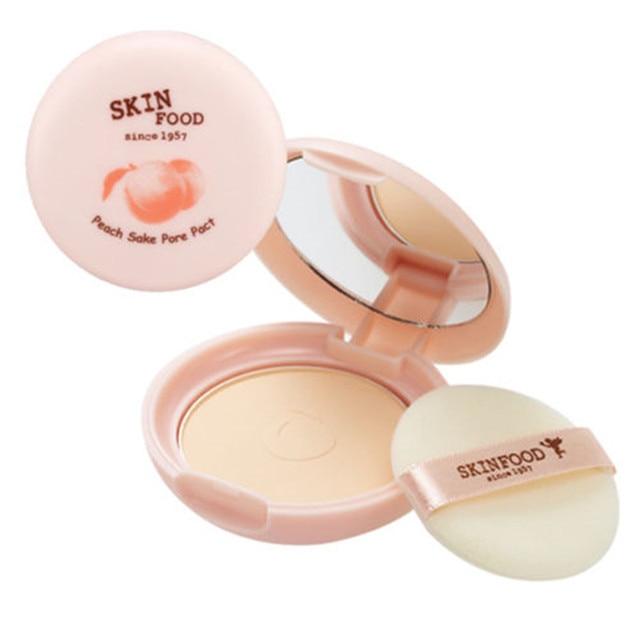 SKINFOOD Peach Sake Pore Pact 9g Korea cosmetic Makeup