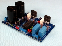 LM3886 Verstärker Bord Dual Parallel 68 W + 68 W mit UPC1237 lautsprecher Schutz Power Verstärker Bord|Verstärker|Verbraucherelektronik -
