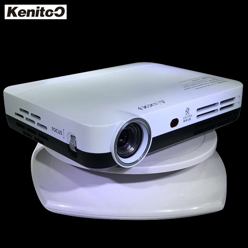 Inteligente HD 4 K Proyector 1280*800 Resolución Nativa Proyector DLP 3D Importador de Cine En Casa Wifi Androide de 300 Pulgadas Proyector de pantalla