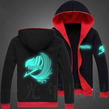Fairy Tail Glow Zipper Hoodie