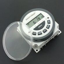 Подключение. sinotimer простое ul программируемый времени реле мощность таймер жк ac