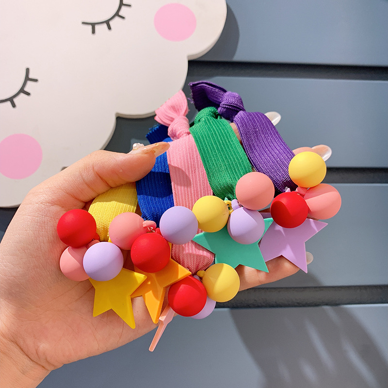 Candy Color Wide Elastic Hair Band Girls Hair Ties Ponytail Holder For Women High Quality Hair Rope Scrunchies Hair Accessories in Women 39 s Hair Accessories from Apparel Accessories