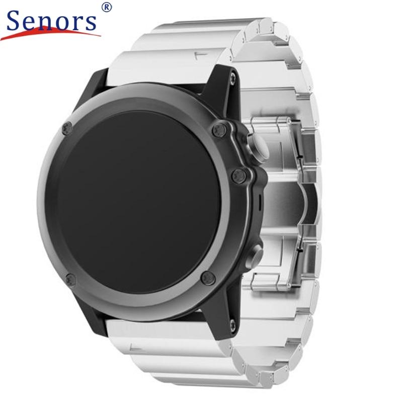 Metal Stainless Steel Watch Wrist Band Strap for Garmin Fenix 3/HR  Ma22 фиксатор распредвала vw audi jtc 4412