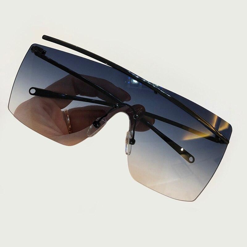 2019 marque Designer carré lunettes de soleil femmes haute qualité soleil verre métal cadre miroir conduite femme lunettes de soleil