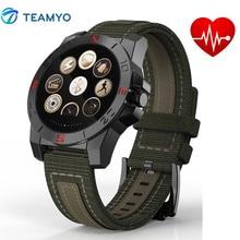 Открытый Спорт Смарт часы N10 с компасом термометр Монитор сердечного ритма часы фитнес-трекер Водонепроницаемый для iOS и Android