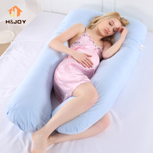 Pregnancy Pillow Bedding Full Body Pillow for Pregnant Women Comfortable U-Shape Cushion Long Side Sleeping Maternity Pillows