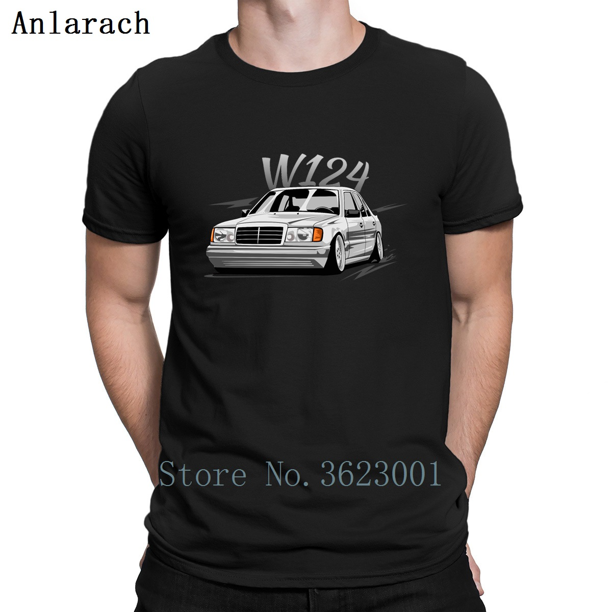 W124 T Shirt Fashion Gift Fitness Clothing Spring 2019 Tee Shirt Hilarious Cotton Letters Personality