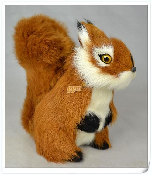 приблизно 20x10x20cm білка іграшка - Домашній декор