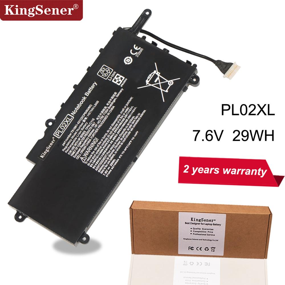 KingSener PL02XL New Battery For HP Pavilion 11 X360 11-n010dx 11-n000snx 11-N014TU 11-N030TU 751681-421 HSTNN-LB6B HSTNN-DB6B