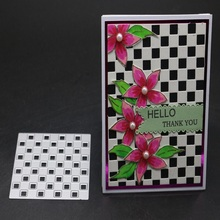 FeLicearts New Design Craft Metal Cutting Dies Square background Scrapbooking Album Paper Card Embossing stencil dei cut