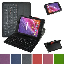 Removable Bluetooth Keyboard Leather Case Cover For 7 9 Asus ZenPad 3 8 0 Z8 Z581KL