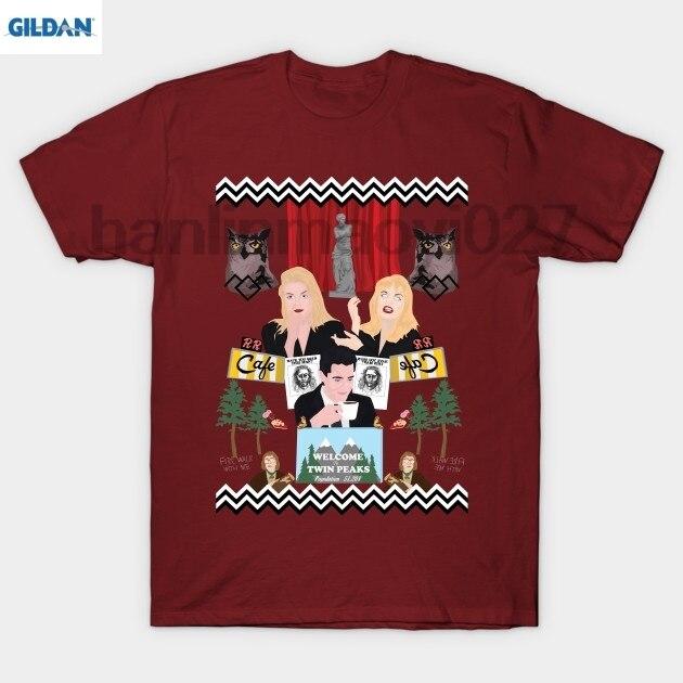 GILDAN Welcome To Twin Peaks T Shirt