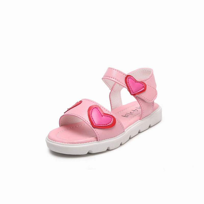 summer sandals kids Artificial leather pink princess girls shoes white sandals kids boys ,leather shoes children