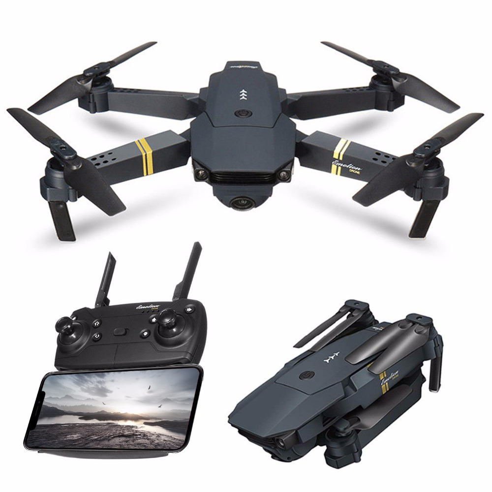 Global Drone GD88 Remote Control Dron High Hold Wifi FPV Pocket Foldable Drones with Camera HD 720P Wide-Angle RC Quadrocopter